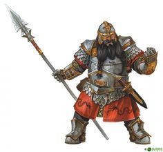Drachenkrieger Illustration
