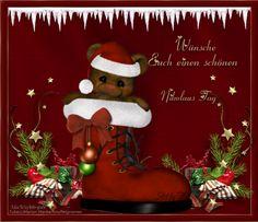 Hallo ihr Lieben!   Ein kleines Geschenk zu Nikolaus.   Und morgen einen schönen 2.Advent.   Gruss und Knuddels   Eure Flo