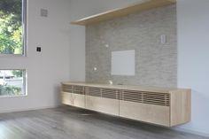 メープルのテレビボード Living Room Art, Living Room Designs, Home Theater, Theatre, Box Shelves, Media Cabinet, Tv Cabinets, Tv Unit, Cabinet Design
