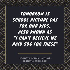 kids | parenting | humor | funny | meme | author | tweets from @moooooog35 | Rodney Lacroix | My books: http://amzn.to/2crgRZz | My website: http://rodneylacroix.com