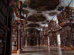 Abbey Library St. Gall in Saint Gallen, Switzerland