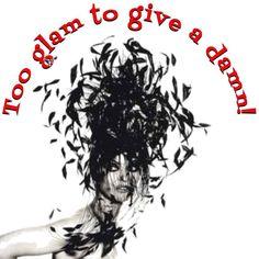 Too glam to give a damn!  #LindaEvangelista #Glam #Damn #Friday #FridayMood #Mood #Attitude #TGIF #Weekend #DoYou #CarpeDiem #SeizeTheDay #PR #RhonnaDesigns #NRPRgroup