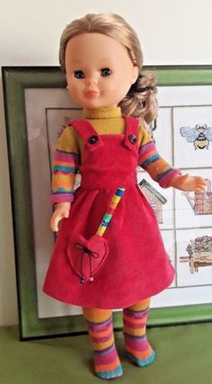 Sarah Kay, Holly Hobbie, Little Darlings, Sewing For Kids, Doll Clothes, Dolls, Summer Dresses, Ebay, Babies