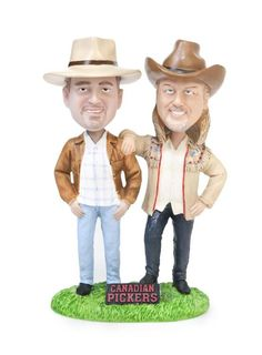 Who wouldn't want the Canadian Pickers bobble heads?! Check out the new store on canadianpickers.com where you can purchase these awesome bobble heads and much more!