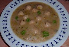 Pórková polévka s knedlíčky - Recepty.cz - On-line kuchařka