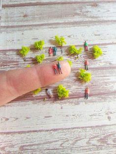 10 small micro miniature plastic people figures diorama or glass ball terrarium or miniature dome jewelry glass ball filler