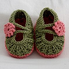 Ravelry: Daisy BABY Booties pattern by Julia Noskova