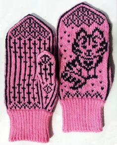 Рукавички с жаккардовым узором – 52 фотографии Baby Mittens, Knit Mittens, Knitting Socks, Mitten Gloves, Baby Knitting, Crochet For Kids, Knit Crochet, Crochet Hats, Wrist Warmers