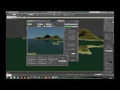 3D Studio Max - Displacement tutorial - Island scene