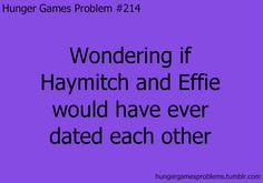 I've always wondered that. I don't think it would have worked out...Effie's got a thing for mahogany ;)