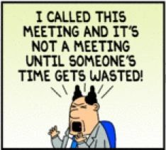 Want to know why your #meetings are such a #waste of time? http://www.100pceffective.com/blog/3-reasons-why-meetings-are-a-wasting-your-time/