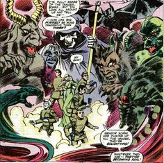 Marvel's Star Trek comics featured the crew of the Enterprise meeting Dracula, Frankenstein, and a whole lot of gnomes...