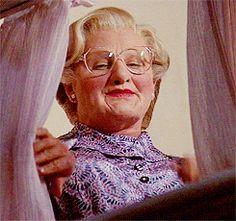 Goodbye Mrs. Doubtfire…