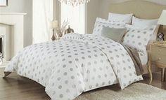 Tahari Home Luxury 300tc Cotton Duvet Cover Bedding 3pc