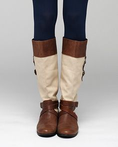 Pink Studio - Roma Riding Boot | 90.00 (available in tan and grey)