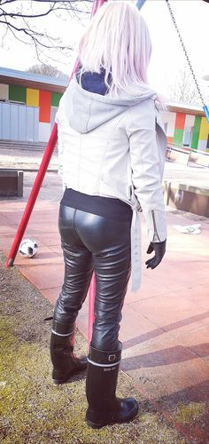 Tight Leather Pants, Sexy, Tights, Glamour, Jeans, Womens Fashion, Ocean City, Wild West, Finland