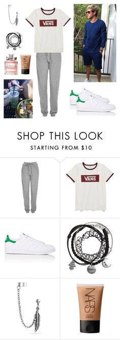 """With Niall #108"" by claudia-rania ❤ liked on Polyvore featuring Topshop, Vans, adidas, Bling Jewelry, NARS Cosmetics, Christian Dior, love, Niall, NiallHoran and boyfriend"