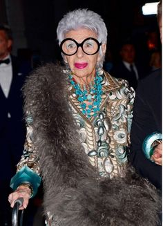 Iris Apfel | Style masterclass - Red Online