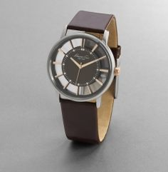 Transparent Round Watch - View all Men's Watches - Kenneth Cole