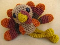 Turkeys - Animal Crochet Pattern Round Up - Rebeckah's Treasures
