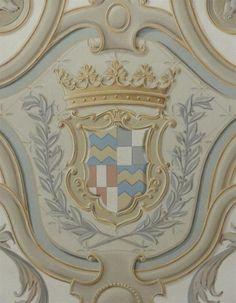 detail of ceiling via  www.jeffhuckabypainting.com