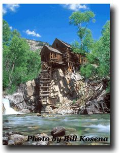 Marble, Colorado...most photographed mill in the scenic state!