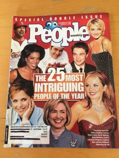 People-Weekly-Magazine-25-Most-Intriguing-People-December-28-1998-English