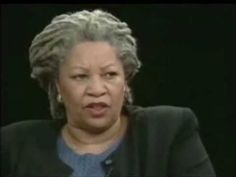 ▶ Toni Morrison Calls Out The Racist Association of Blackness With Criminality - YouTube
