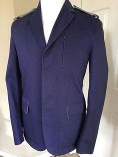 Tommy Hilfiger Men/'s Modern Fit Corduroy Sport Coat Size 48 Long NWT Navy Blue L