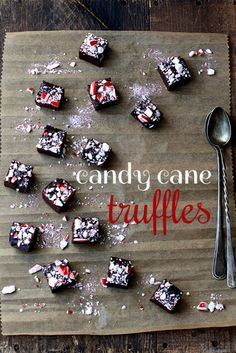 Candy cane truffles. This is why everyone gains weight during the holidays...
