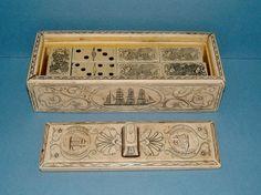 Vintage 1950s 28 Piece Dominoes Set in by QueensParkVintage, $55.00