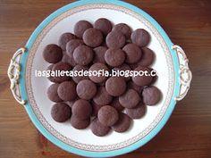 Masa galletas de chocolate