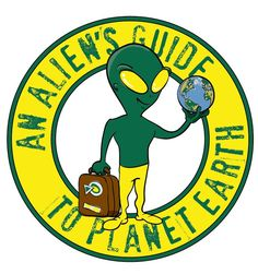 logo for An Alien's Guide To Planet Earth by Toenail Willie