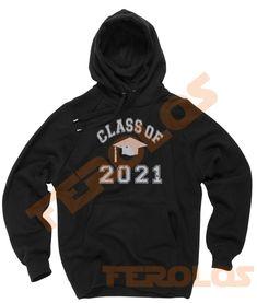 Class Of 2021 Graduation Unisex Adult Hoodies Pull Over