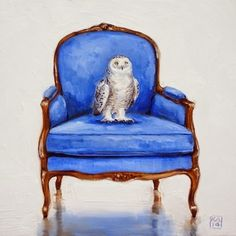 who me?, painting by artist Kimberly Applegate