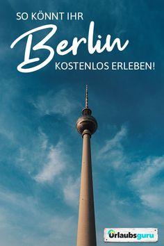 Erlebt Berlin kostenlos! Ich verrate euch, welche coolen Sehenswürdigkeiten und Aktivitäten es in der deutschen Hauptstadt gratis zu entdecken gibt. Viel Spaß auf eurer Städtereise! #berlin #hauptstadt #deutschland #deutschlandliebe #kurztrip #städtereise #germany #reisetipps #inspiration #reiseführer #reisemagazin Berlin Hauptstadt, Berlin Germany, Hinata, Cn Tower, Places To Travel, Yoga, Vacation, World, Building