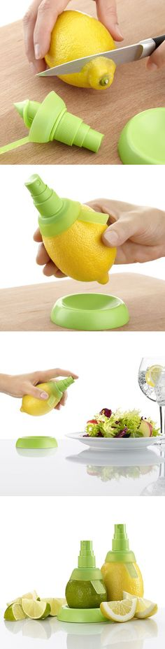 Lekue Citrus Spray - great invention!