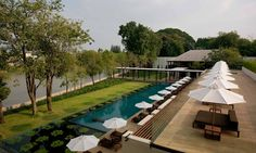 You want 5 star experience and food in Chiang Mai - Chedi is the answer