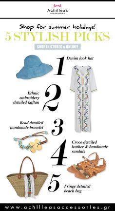 Stylish picks! #summerstyle #editospicks #fashionpicks #fashionchoices #summerdress #beachbag