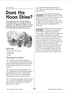 Does the Moon Shine?