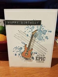 012618 - Altenew - Label Love, Stampin' Up - Gorgeous Grunge, Epic Celebrations