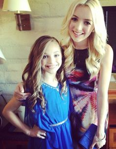 Maddie Ziegler and Peyton List @  TCAs 2013