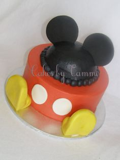 mickey mouse cake ideas   Mickey Mouse Smash Cake - Cakes by Tammi