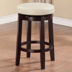 "Found it at Wayfair - Maya 24"" Swivel Bar Stool with Cushion"