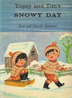 Topsy and Tim's Snowy Day - Jean Adamson - Blackie & Son - Good - Paperback