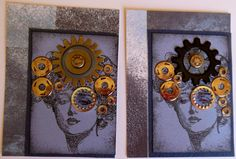 Steampunk Lady by parknslide - Cards and Paper Crafts at Splitcoaststampers