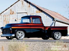 1955 chevy truck   Camionetas clásicas modificadas » 1955_chevrolet_truck+side
