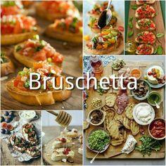 Italiaanse Recepten | Sogno Italiano Zucchini Ravioli, Zucchini Chips, Bruchetta, Tapas, I Love Food, Good Food, Yummy Food, Snack Recipes, Cooking Recipes