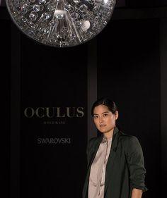 Joyce Wang's Swarovski Oculus Chandelier Debuts in Hong Kong