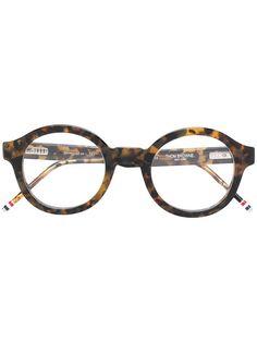 d710980bfeae THOM BROWNE EYEWEAR tortoiseshell effect eye glasses.  thombrowneeyewear   Thom  Browne Eyewear